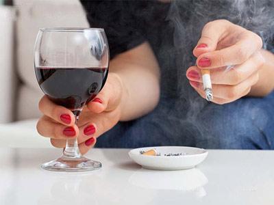 تاثیر سیگار بر عمل بینی